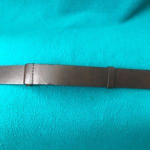 Chico's Accessories - Chico Adjustable Leather Belt w Silver/Turquoise